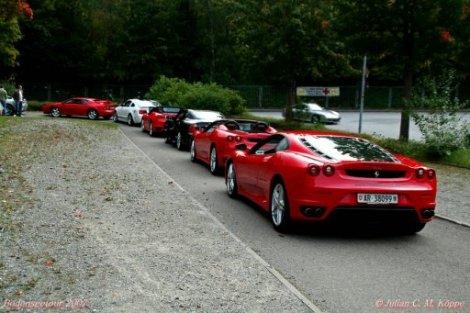 Bodenseetour2007Esprit500GT430SpideMaserati3200430Spider430Coupe512